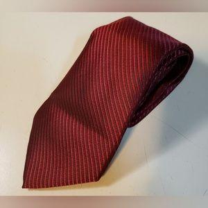 GIORGIO ARMANI  Silk tie with stripe pattern